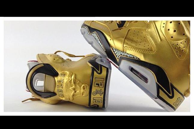 4bdb6252a563 low cost air jordan 6 91 champ custom gold sneakers cba26 01b15  coupon  code for jordan vi 91 champ ca300 41a37
